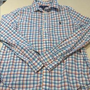 Boys polo shirt.
